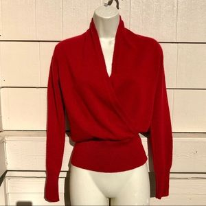 NEIMAN MARCUS Cashmere Collection Wrap Sweater